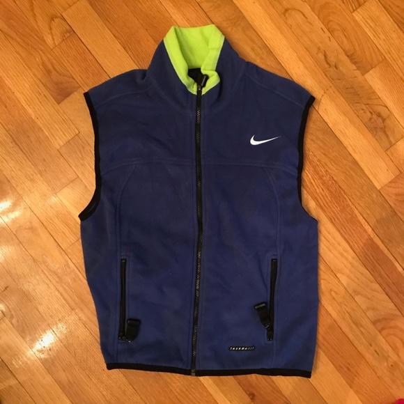 carga Intenso Ejecutar  Nike ACG Jackets & Coats | Vintage 90s Fleece Vest Bluevolt Size M ...